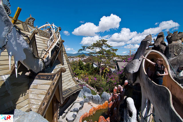 Crazy House in Dalat, Vietnam (Hằng Nga Guesthouse)
