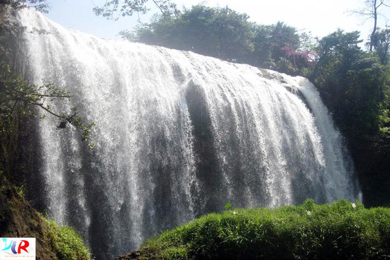 Elephant Falls in Da Lat, Vietnam