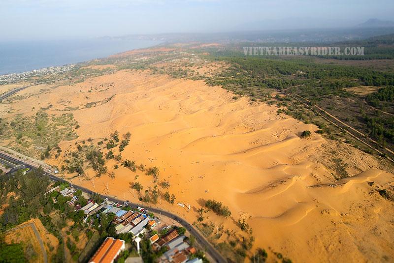 The Sand Dunes in Mui Ne