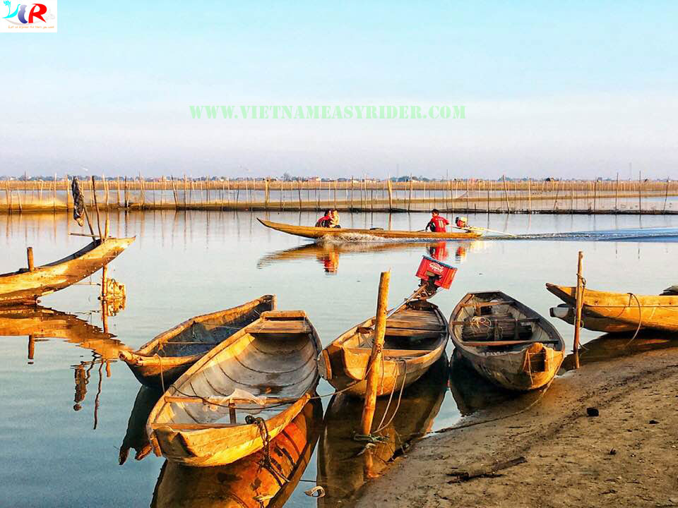 Tam Giang Lagoon in Hue Vietnam