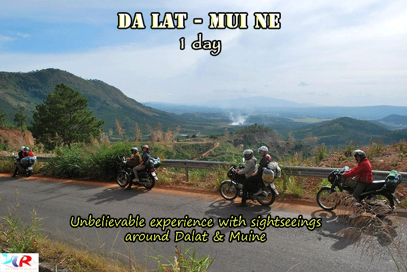 Dalat Easyrider Motorbike Tour  to Mui Ne in 1 day