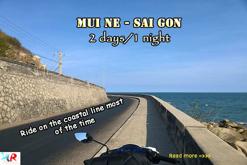 Muine to Ho Chi Minh motorbike tour in 2 Days