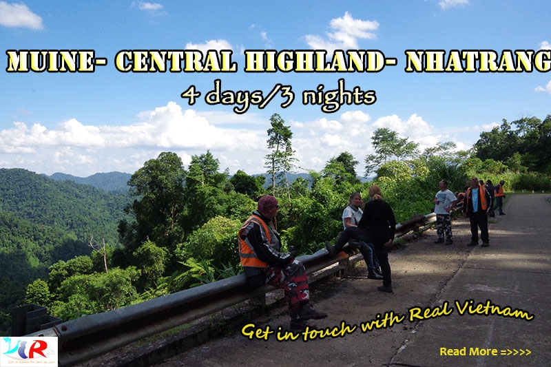 Muine Easy Rider Trip to Central Highland to Nha Trang in 4 days