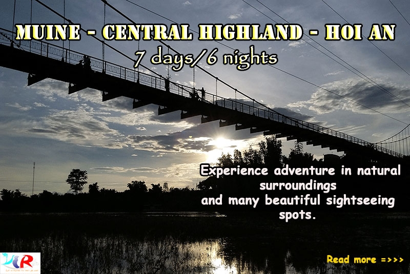 Muine Easy Rider Motorbike Trip to Central Highland to Hoi An in 7 days