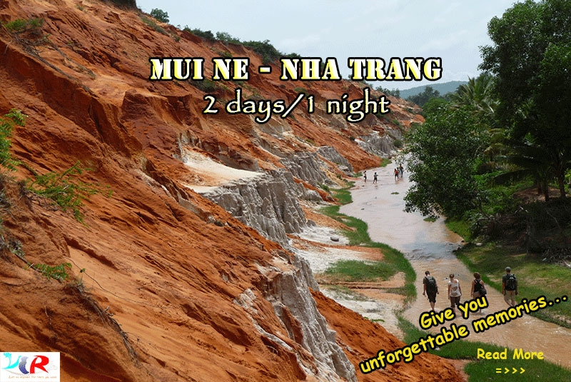 Muine to Nhatrang motorbike tour in 2 days