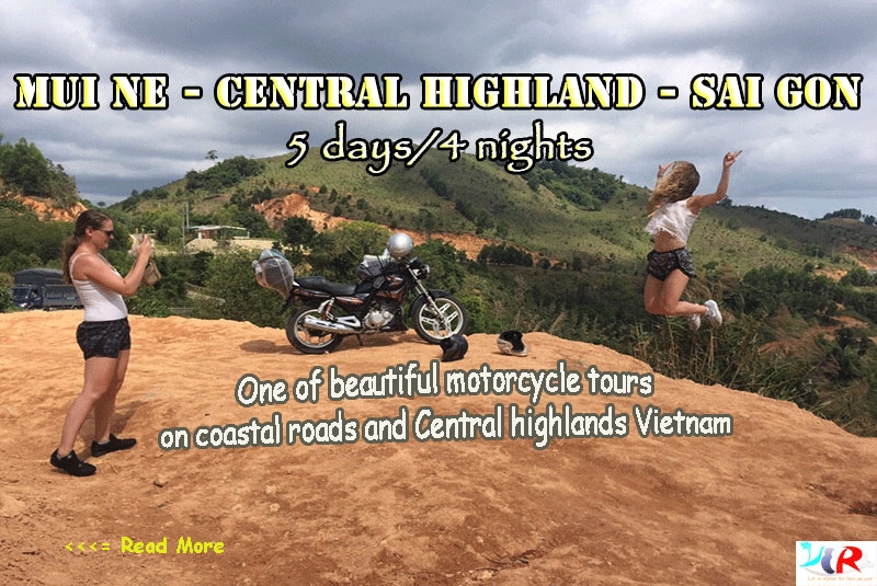 Muine to Saigon motorbike tour in 5 days
