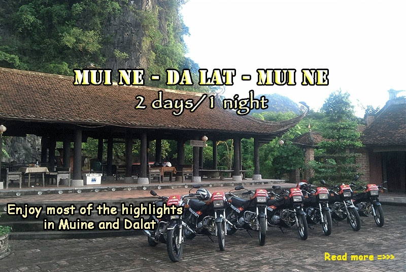 Loop Motorcycle Easy Rider Trip  Muine to Da Lat  in 2 days
