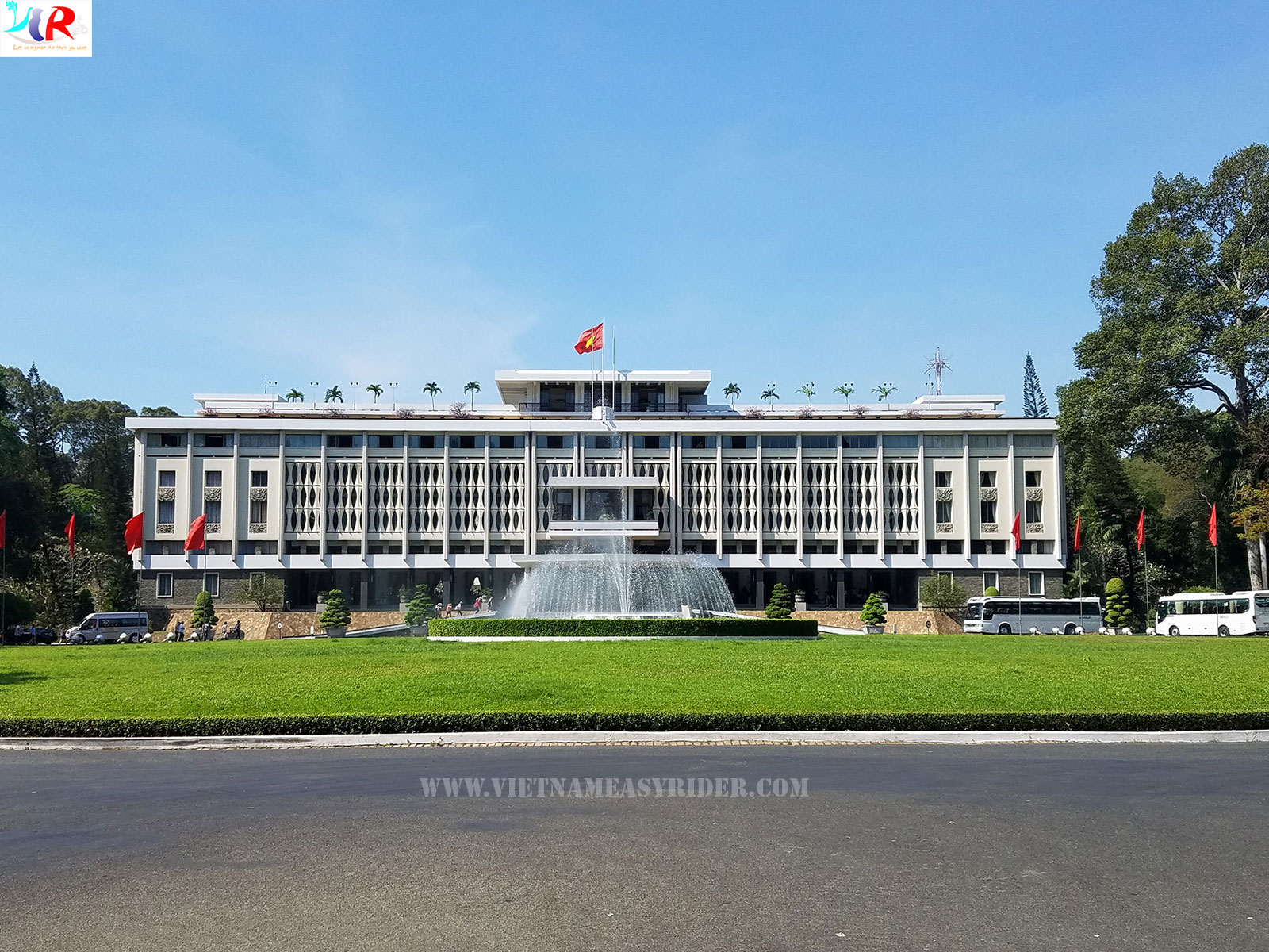 The Reunification Palace (Independence Palace), Saigon