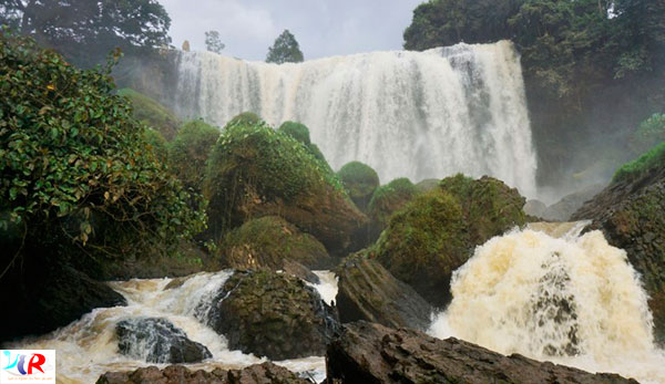 Elephant Waterfall in Dalat